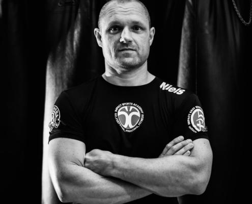 Krav Maga instructeur Niels van Impact Sports Academy te Breda