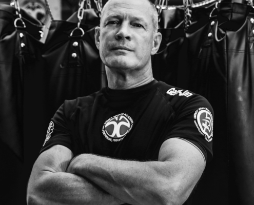 Krav. Maga instructeur Gert-Jan van Impact Sports Academy te Breda