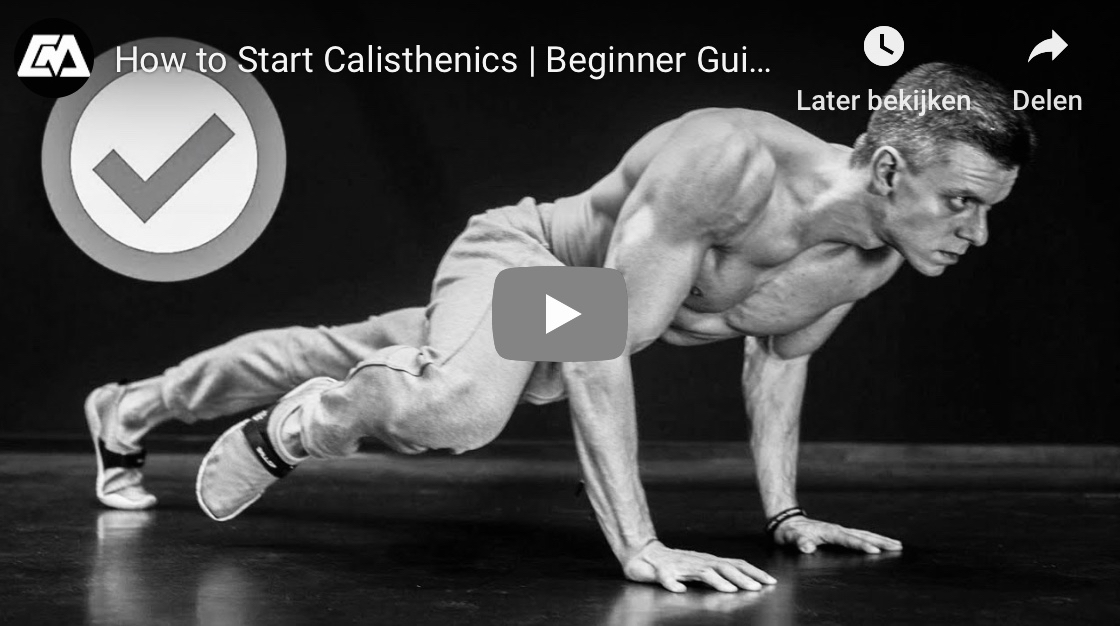 video calisthenics