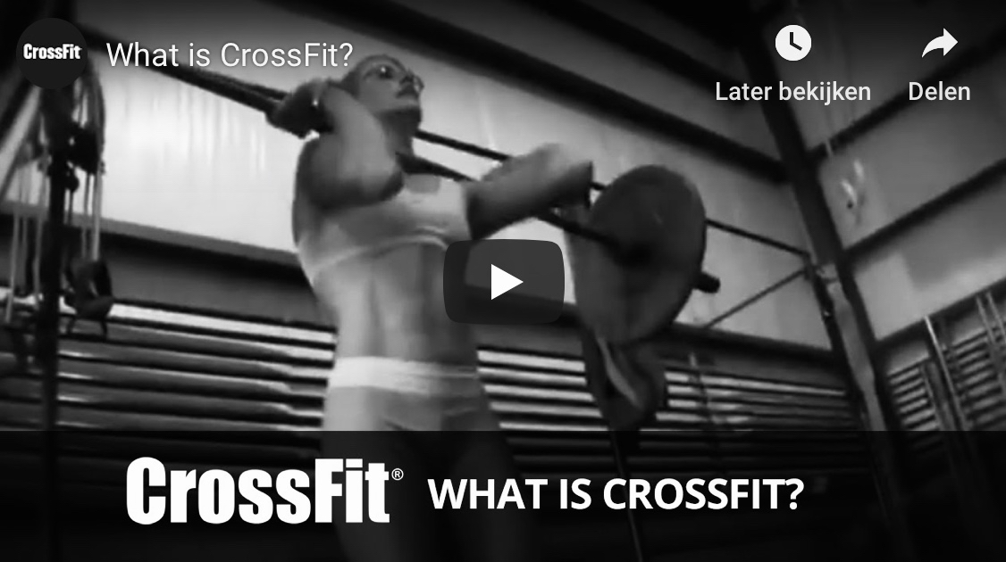 Video youtube Wat is CrossFit bij Impact Sports Academy te Breda