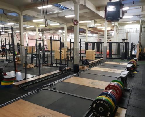CrossFit Oly weightlifting gewichtheffen bij Impact Sports Academy te Breda