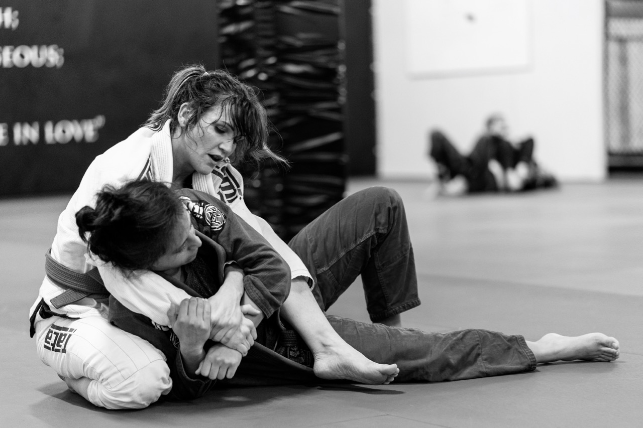 Ladies only BJJ bij Impact Sports Academy te Breda powered by Combat Brothers
