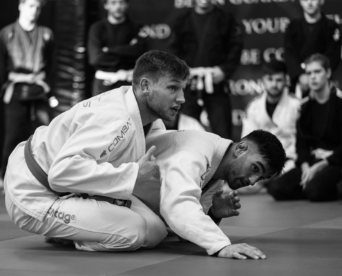BJJ Grappling MMA bij Impact Sports Academy te Breda. Powered by Combat Brothers