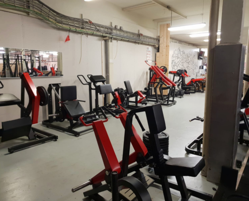Fitness apparaten Open Gym bij Impact Sports Academy te Breda