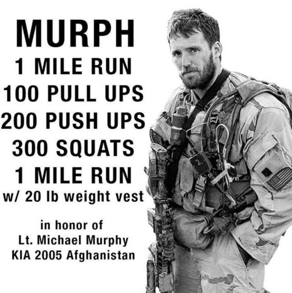 Murph WOD ISA CrossFit