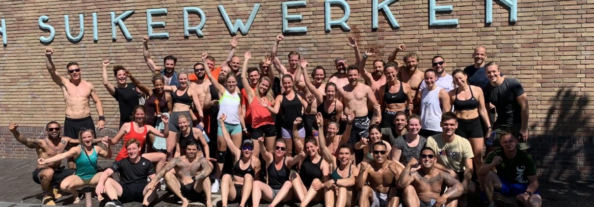 CrossFit Murph event bij ISA CrossFit powered by Impact Sports Academy te Breda