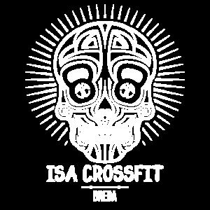 Skull logo ISA CrossFit Impact Sports Academy te Breda