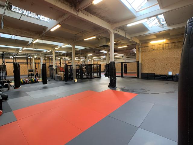 Vechtsportmat voor boksen, Krav Maga, Kickboksen en 12 Rounds StrikeFit
