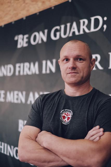 Niels instructeur Impact Sports Academy te Breda