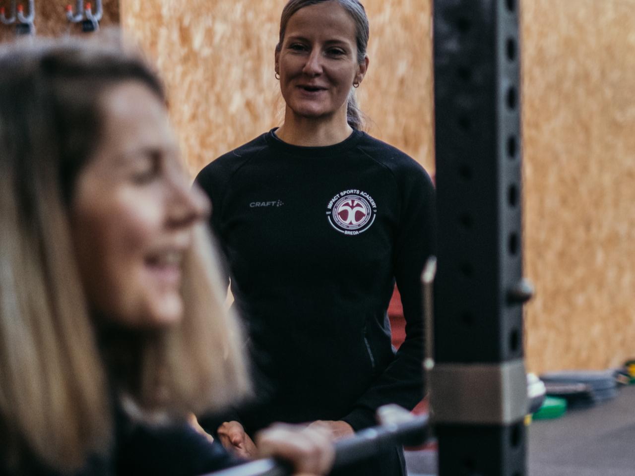 Trainen tijdens zwangerschap - personal training Impact Sports Academy te Breda