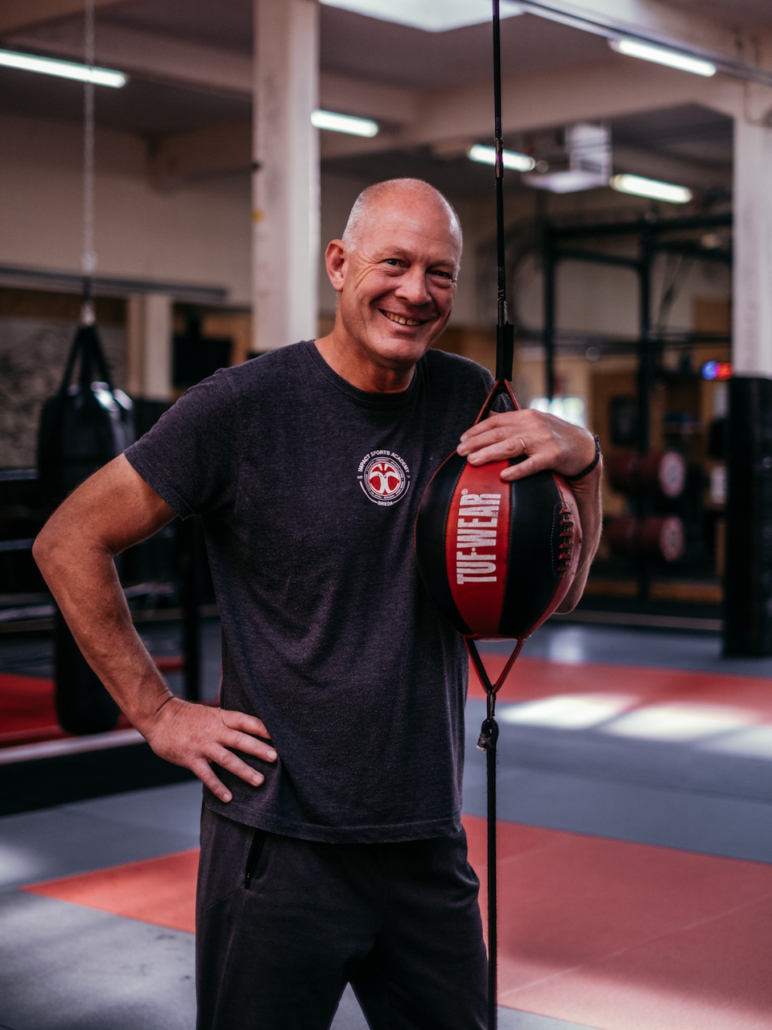 Impact Sports Academy FightClub coach Gert-Jan