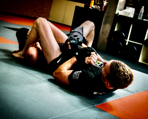 MMA Submission Grappling bij Impact Sports Academy te Breda