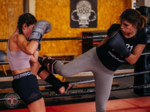 Kickboks lessen bij Impact Sports Academy te Breda